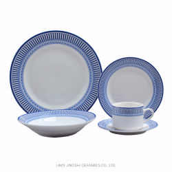 De hete het Verkopen Reeks van het Porselein 20PCS van de Luxe van de Korting Fijne, de Ceramische Reeks van het Diner