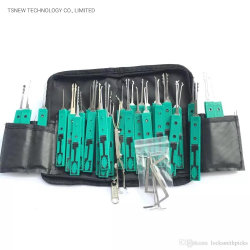 Originele Klom 32 PCS Lock Pick Tool gebruikte Locksmith Tools