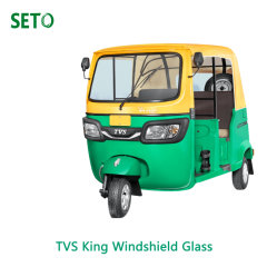 Indien Fernseher King/Bajaj205/Tuk Tuk Drei Wheeler Windschild Automobile Glass Factory