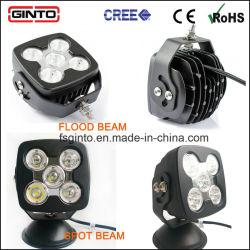 Étanche 5pouces LED de la conduite hors route 3820LM lampe de travail (GT1025-50W)