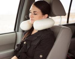 Almohadilla natural del coche U del recorrido del cuello del caucho de espuma del látex