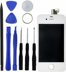 preço de fábrica para o visor LCD do telefone celular do conjunto da tela de toque do digitalizador para 4G/4s