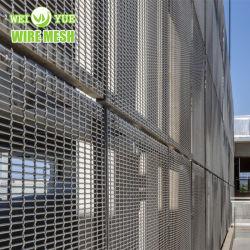 ステンレス鋼の天井または壁またはカーテンの装飾のための建築装飾的な建築材料の金網の金属ファブリック