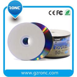 白いインクジェット印刷できる4.7GB 16X 120minブランクDVD DVD-R