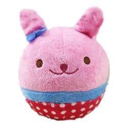 Мягкая игрушка для собак розовый кролик крытый и открытый играть игрушки