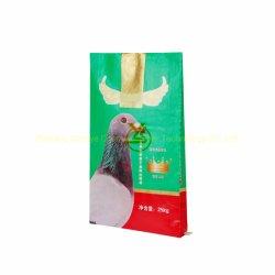 再使用可能なプラスチックパッキング袋を包む卸し売りPPによって編まれる飼料か米によって薄板にされるBOPP