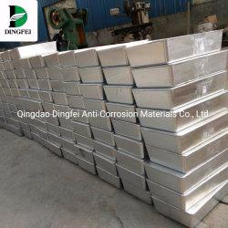 던지기 마그네슘 부식 보호를 위한 알루미늄 아연 양극