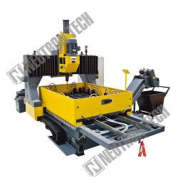 Table de travail double cnc machine de forage de la plaque PD16c de la Chine usine