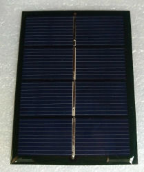 0,6 W 2V de la résine époxy /mini PCB des panneaux solaires pour la lumière solaire