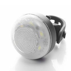 Pause automatique de la lumière ultra-brillant un montage facile en vélo de sécurité à bicyclette le feu arrière rouge + lumière à LED blanche haute Lumen Lampe torche rechargeable USB Bicycle feux arrière