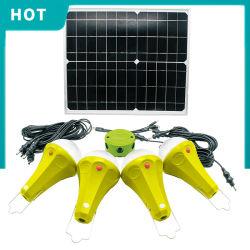 가정용 태양광등 키트 태양열 전력 시스템 20W 25W 솔라 원격 제어 패널