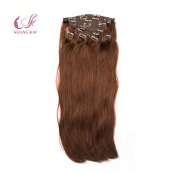 Clip estratta doppio 120g/160g/220g dei capelli di Bellami nelle estensioni dei capelli