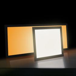 40W 200-240 V encastrés de 60X60 Feu de panneau à LED couleur réglable