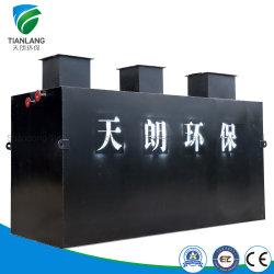 Mbr de alta calidad Doméstico/Matadero/Granja/Tinte integrado Planta Depuradora de Aguas Residuales