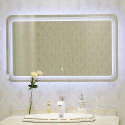 Square Marcação TUV TUV certificado Saso Espelho LED Hotel