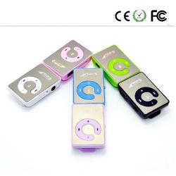 미러 클립 USB 디지털 MP3 선수 지원 SD TF 카드