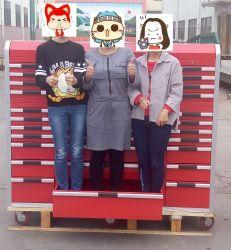 جراج الخدمة الشاقة بالجملة ورشة عمل اسطوانة تخزين خزانة مع 33 ألومنيوم أدراج صندوق أدوات