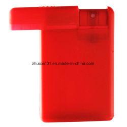 Tarjeta de crédito de 20 ml Atomizador de bolsillo de la Botella de Perfume botella pulverizadora