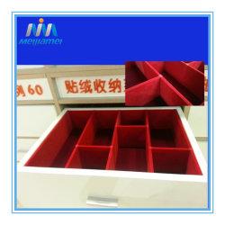 Bandeja de joyas, armario, caja de almacenamiento, el color rojo para cajones cajones armario