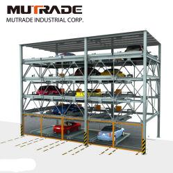 Automatisches Anheben-Schiebendes hydraulisches Auto-Aufzug-Parken-System