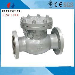 Кованая сталь Dn250 Pn40 цепи обратный клапан поворотного механизма