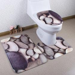 Venda por grosso Walmart Impresso / Decorativo barato conjunto de tapetes tapete tapetes