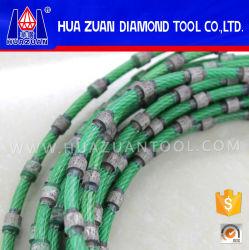 Ajustando el diamante que rajaba el alambre vio hecho de China