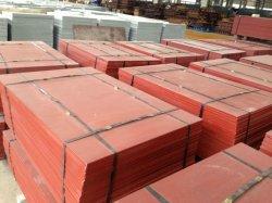 Palettes pour l'usine de fabrication de bloc, les palettes en acier