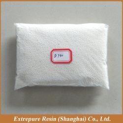 D730 Macroporous básicos de la serie fuerte ácido acrílico de intercambio iónico resina de intercambio Resin-Anion