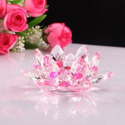 La Moda Artesanal Flor de Loto Cristal Rosa para regalo