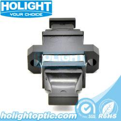 De Simplex Enige Optische Adapter van de Huisvesting van de Wijze MPO Zwarte Plastic