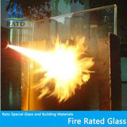 8-15мм 120 мин безопасности закаленное Термостойкое монолитной огнеупорные стекла для зданий