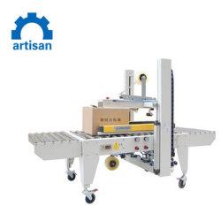 Verzegelen van de Verpakking van de Machine van de Riem van de Verzegelaar van de Band van het Geval van de Doos van het karton het Semi Automatische Zij