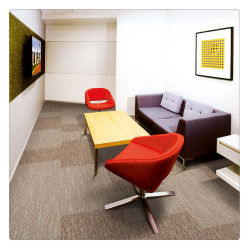 Dekorativer feuerverzögernder reiner Fußboden-starke Stapel-Hexagon-Teppich-Fliesen