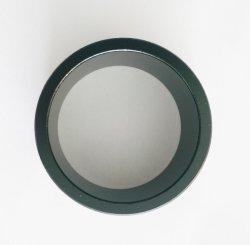 Revêtement époxy noir aimants de terre rare forme de sonnerie, magnétisation axiale