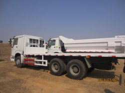 4X2 HOWO lit plat chariot plate-forme de récupération dépanneuse camion de transport de fret à plat
