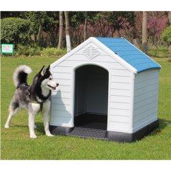 Perrera de plástico exterior extraíble y lavable Gran Perro Golden Retriever Criadero de mascotas de peluche dog house Rainproof Amaw-0125