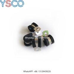 Gevoerde P Klemmen 9.52mm van Ys Rubber de Klem van de Pijp van de Slang van de Buis voor de Toebehoren van de Machine van de Mist