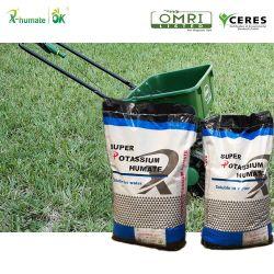 El ácido húmico Fulvic ácidos orgánicos de origen Leonardite Certificed bioestimulante