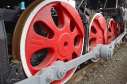 Hersteller-Form-Stahl-Sand-Gussteil-Serien-Rad-Gleis-Räder