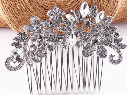 Nouvelle décoration de Noël personnalisée de Crystal Cheveux décoration verre Rhinestone Crystal Peigne à cheveux ornements de cheveux
