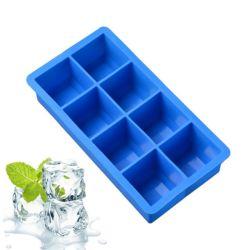 Moldes de hielo de silicio de forma personalizada, la bandeja de cubitos de hielo