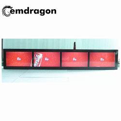5 inch taxi hoofdsteun Indoor Advertising Video Screen LCD Digital Signage Real HD Media Player Digital Advertising Box