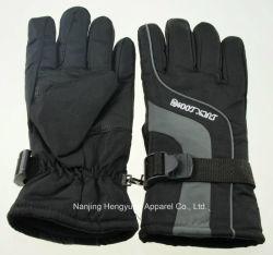 高品質の大人のスキー手袋の冬の手袋の冬の羊毛(HY17082502)