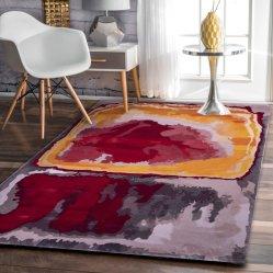 Nuevo diseño de alfombras de seda, fibras Tencel Banboo, alfombras, ropa de cama salón, sofá, Villa la alfombra, moqueta y alfombras de nylon de pared a pared, contemporáneo de moqueta del suelo