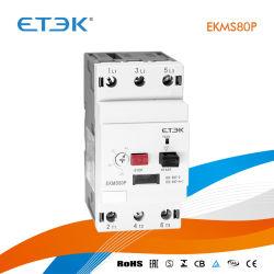 La protección del motor el Disyuntor MPCB Ekms80p 80un pulsador tipo MPCB