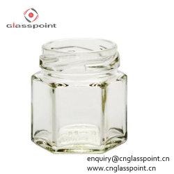 Bol en verre de bon marché 200ml hexagone