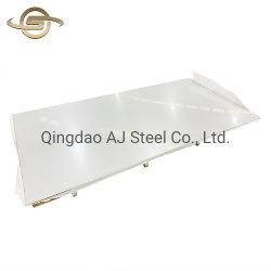 Cr SS 304 304L 316 316L 321 310 310S 2B papier film entrelacé plaque en acier inoxydable