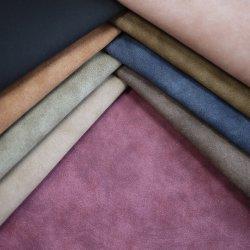 2019 Nouveau Yangbuck Nubuck PU pour des chaussures en cuir synthétique des sacs de vêtements