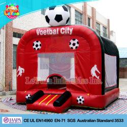 Resistência ao fogo combinada Saltitonas Futebol inflável para venda